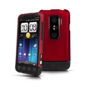 HTC Evo 3D - Red Body Glove Icon Case:Amazon:Cell Phones ...