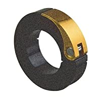 Ruland MQCL-75-A Anodized Aluminum Quick Clamping Shaft Collar, One Piece, 19 mm Width, 120 mm OD, 75 mm Bore by Ruland Manufacturing Co., Inc.