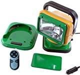 Golight Remote Control Spotlight with John Deere & Green Bay Packers Colors - Super Bowl Winners