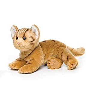 Nat and Jules Plush Toy, Orange Tabby Cat, Large
