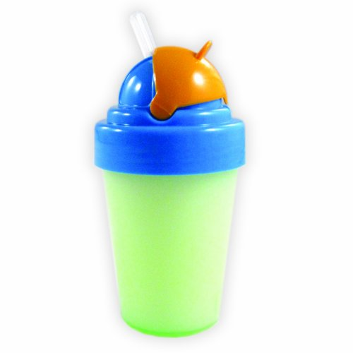 Nurtria BPA Free Flip Top Straw Cup, Boy, 7 Ounce (Discontinued by Manufacturer)