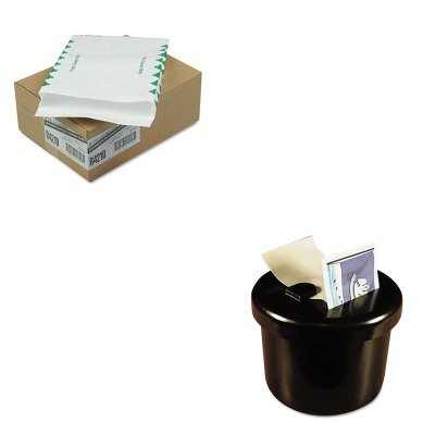 KITLEE40100QUAR4210 - Value Kit - Survivor Tyvek Expansion Mailer (QUAR4210) and Lee Ultimate Stamp Dispenser (LEE40100) kitmmmc60stpac103637 value kit scotch value desktop tape dispenser mmmc60st and pacon riverside construction paper pac103637