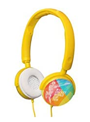Cognetix ICC Cricket World Cup 2015 DIY Headphone - CX311Y (Yellow)