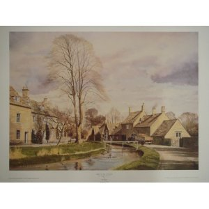 set-of-2-alan-ingham-prints-spring-in-the-cotswolds-spring-in-the-dales
