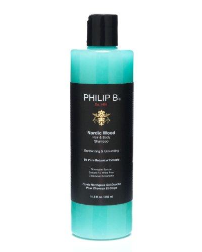 Philip B Nordic Wood 1 Step Hair & Body 11.8-Ounces