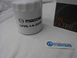 NEW GENUINE MAZDA OIL FILTER #LF05-14-302A