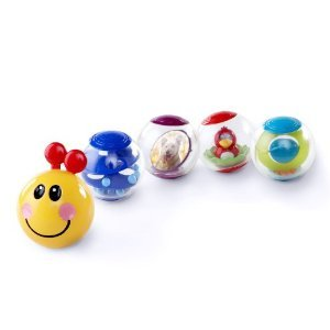 Baby Einstein Roller Pillar Activity Balls - Balls are perfect for little hands and encourage your baby to touch, explore, and discover lots of fun