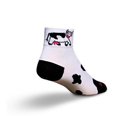 Buy Low Price SockGuy Women's 2in Cow Cycling/Running Socks (B004SX6NRE)