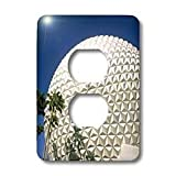 Danita Delimont - Florida - Florida, Orlando. Epcot Center at Walt Disney World - US10 BBA0073 - Bill Bachmann - Light Switch Covers - 2 plug outlet cover