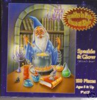 Sparkle & Glow Wizards Brew Glows in the Dark Puzzle
