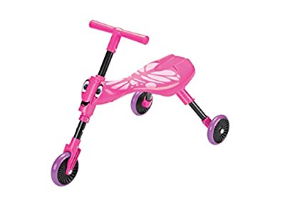 Scuttlebug Butterfly Ride-On (Pink/Purple)