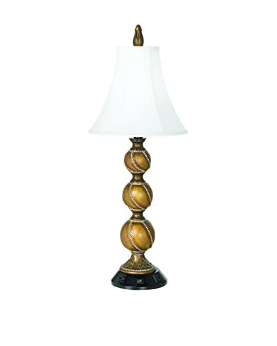Pacific Coast Lighting Workstation Table Lamp, Chestnut/Gold