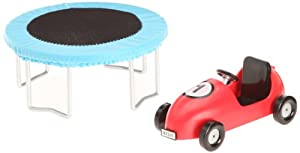 Lundby Smaland Trampoline and Pedal Car
