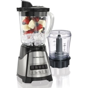 Hamilton Beach Blender / Chopper (58149) - 700 W - 1.25 quart-by HAMILTON BEACH