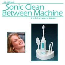 Sonic 4-in-1 Clean Between Machine Electric Toothbrush (Sonic Clean Between Machine compare prices)
