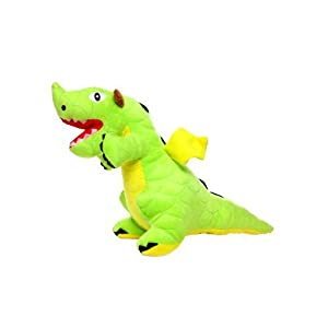 Mighty Dragon Dog Toy, Green