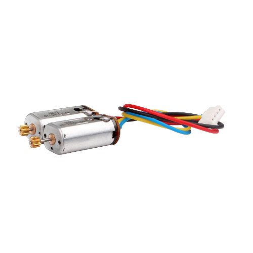 Syma Upper Blade Motor Set for Syma S34 Heli - 1