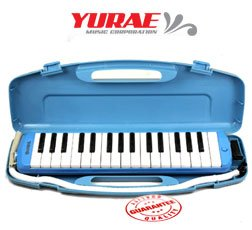 Yurae 32 Key Melodica Blue AM-32K3B