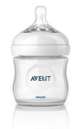Phillips Avent Natural Feedding Bottles 125ml/ 4 Oz (1pc Pack)