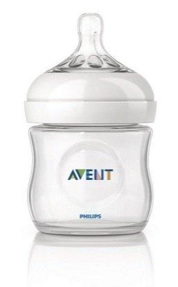 Phillips Avent Natural Feedding Bottles 125ml/ 4 Oz (2pc Pack)