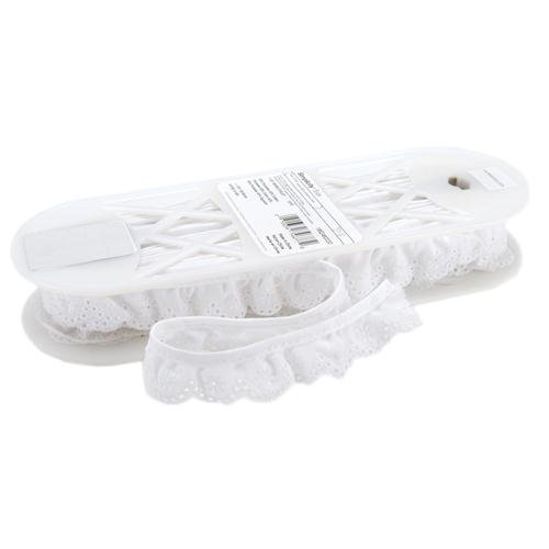 "Review Wrights Swiss Eyelet 1 1/8"" Wide 10 Yards-White 186 2460-030"