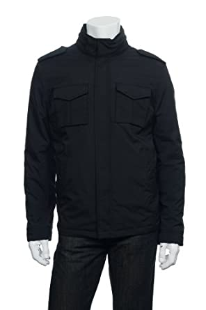 Buy Tommy Hilfiger Mens Black Jacket by Tommy Hilfiger
