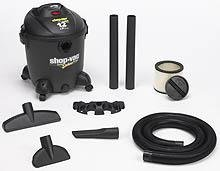Shop-Vac 5861200 12-Gallon 5-Peak HP Quiet Deluxe Sereis Wet Dry Vacuum