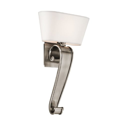 Wac Lighting Track Current Limiter: Kichler Lighting 42714CLP Livingston Wall Sconce Classic