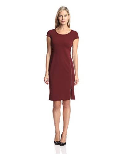 Julia Jordan Women's Zip Detail Sheath Dress