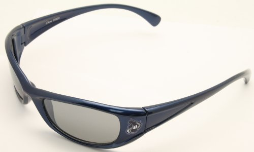 NCAA Xavier Musketeers Blue Sport Wrap Sunglasses