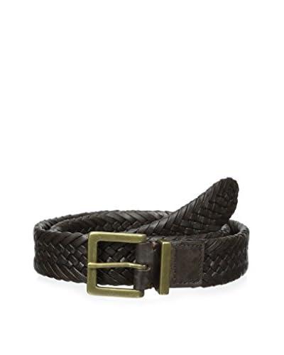 J. Mclaughlin Men's Hamilton Woven Leather Belt
