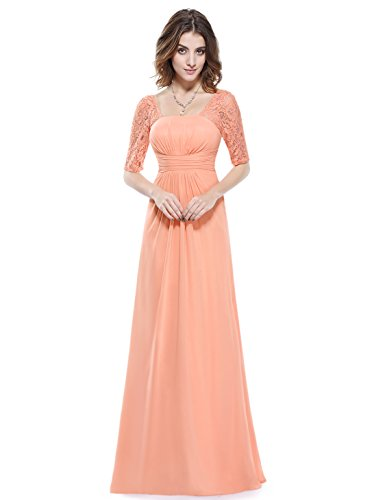 Ever-Pretty-Half-Sleeve-Square-Neckline-Ruched-Waist-Evening-Dress-08038