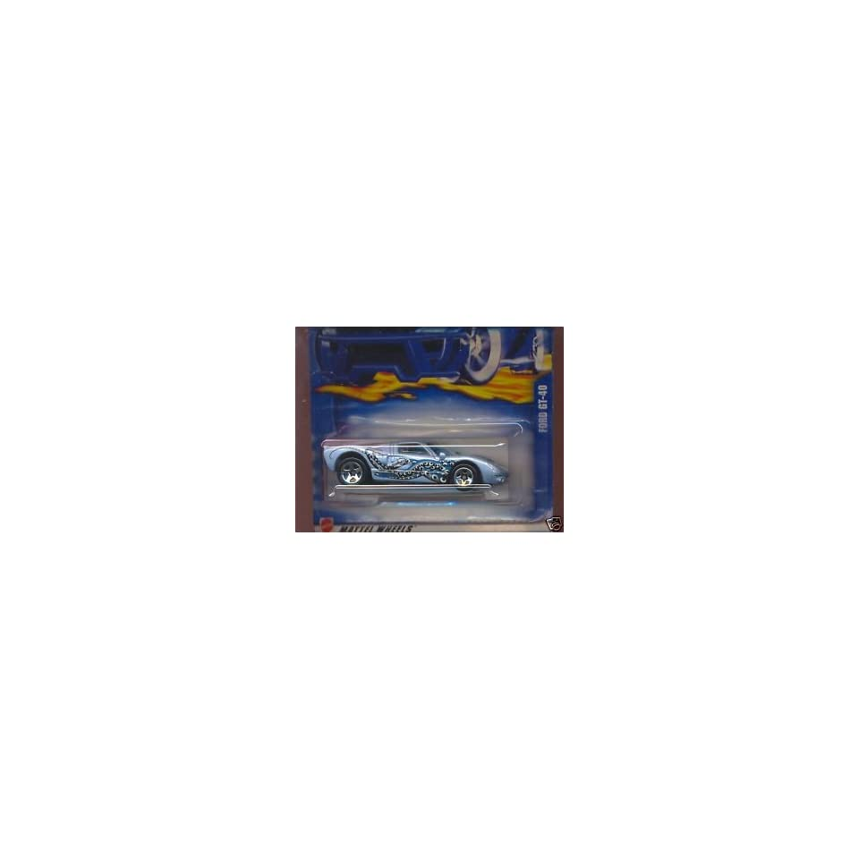 Hot Wheels Ford GT 40 #222 (2002)