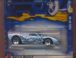 Hot Wheels Ford GT-40 #222 (2002) - 1