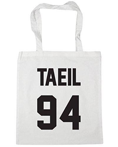 hippowarehouse-taeil-94-printed-on-the-back-tote-shopping-gym-beach-bag-42cm-x38cm-10-litres