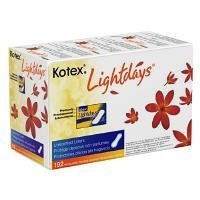192 Kotex Lightdays Unscented PANTILINERS - Regular