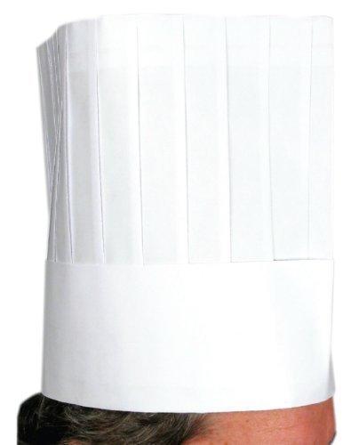Winco Disposable Chef's Hat