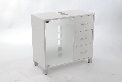 waschtischunterschrank mit 3 schubladen. Black Bedroom Furniture Sets. Home Design Ideas