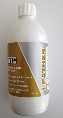 TTP LEATHER 500ml rich Leather conditioner best leather conditioner leather cream nourishing prevents cracking based on natural oils easy to use long lasting leather balm car seat cleaner car leather interiors sofas bags jackets
