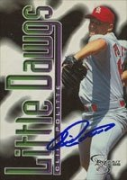Cliff Politte St. Louis Cardinals 1998 Fleer Dugout Access Autographed Hand Signed... by Hall of Fame Memorabilia