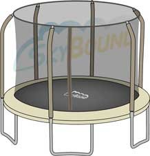 Replacement-Net-for-14ft-Trampoline-Enclosure-using-6-Angled-Poles-and-Sleeves-Enclosure-Poles-Not-Included