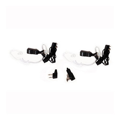 MIDLAND AVPH3 TRANSPARENT SECURITY HEADSETS, 2 PK