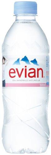 伊藤園 Evian(エビアン) ミネラルウォーター500ml×24本