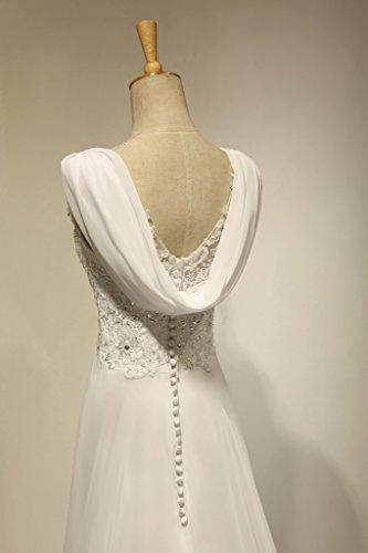 Wedding Dress Accessories Straps : Aurora bridal women s v neck a line lace sapghetti straps