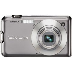 Casio Exilim EX-S10SR 10MP 3x Zoom 2.7-Inch LCD Screen Digital Camera (Silver)