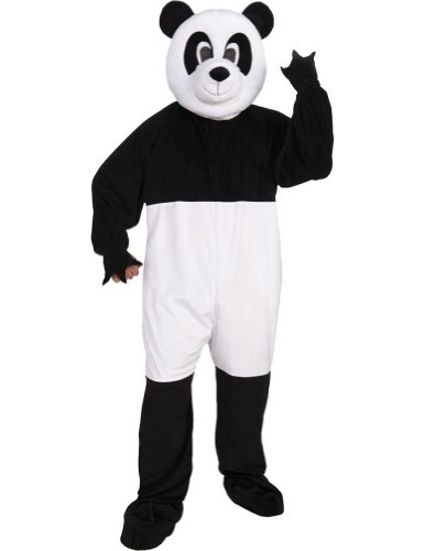Panda Adult Mascot Costume Halloween Costume - Most Adults