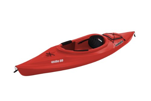 Sun Dolphin Aruba sit-in Kayak, 10-Feet, Red