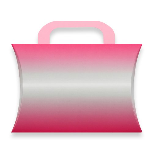 Berwick Ombre Pillow Box Gift Card Holder, Pink, 7 3/8
