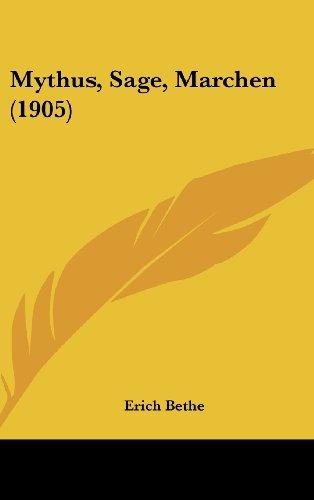 Mythus, Sage, Marchen (1905)