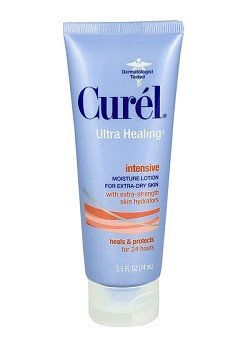 Curel Ultra Healing 24 Hour Daily Moisturizing Lotion 2.5 Oz.